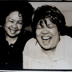 Yvonne and Mavis Staples